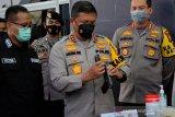 Sindikat narkoba di Riau disikat lagi, tujuh senpi dan 3kg sabu diamankan