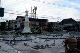 Penataan sisi utara simpang Tugu Yogyakarta akan selesai tiga pekan