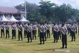 Protokol kesehatan ketat  di pembukaan Pendidikan Bintara Polri Sulteng