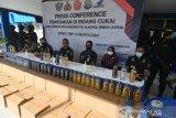 Kantor Bea Cukai Palu menyita 1.174  botol MMEA ilegal