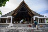 Perampungan Masjid Nurul Hasanah Aceh bantuan rakyat Aceh