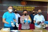 Polisi tangkap penerima paket sandal berisi sabu