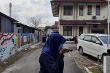 Sejumlah pegawai KPU di Sumbar berlarian ke luar gedung akibat gempa