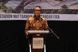 Gubernur : Stadion Mattoanging Makassar dorong pertumbuhan ekonomi Sulsel
