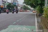 Pelanggar jalur khusus sepeda di Purwokerto bakal dikenai sanksi
