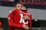 Albania rebut tiket promosi Nations League usai bekuk Belarusia 3-2