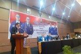 Datang bersama Ketum DPP PAN, Pasha Ungu nyanyikan sejumlah lirik lagu di hadapan Kader PAN Sumbar