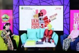 Anna Avantie berbagi kisah sukses di UKM Virtual Expo