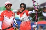 Olimpiade, Panahan Indonesia ke perempat final beregu campuran