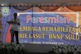 Kepala BNN RI resmikan Lembaga Rehabilitasi di Manado