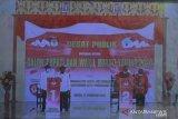 Dua calon paslon Bupati Yalimo sepakat wujudkan pilkada aman