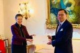 Dubes Kamapradipta serahkan surat kepercayaan kepada Raja Swedia