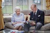Ulang tahun pernikahan ke-73 Ratu Elizabeth dan Pangeran Philip