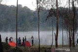 TNLL: Kunjungan wisatawan ke obyek wisata Danau Tambing membludak