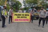 Polres hentikan resepsi pernikahan anak Kalaksa BPBD Kabupaten 50 Kota