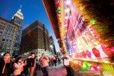 COVID-19 melonjak, rakyat Amerika Serikat rayakan Thanksgiving berskala kecil