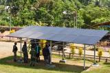 Tim teknis Kementerian ESDM-TNI periksa PLTS 9 pos di perbatasan Papua