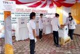 Pemkab dan DPRD Barsel dukung simulasi pemungutan suara terapkan prokes
