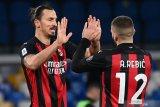 Dua gol Ibrahimovic bawa Milan menang 3-1 atas Napoli