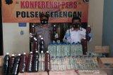 Jelang pilkada, polisi sita ratusan liter minuman keras di Solo