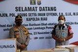 346 warga binaan Lapas Pekanbaru sudah sembuh dari COVID-19