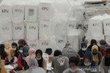 KPU Bandung pastikan logistik Pilbup sampai di kecamatan pekan depan