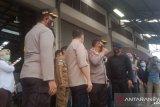 Kapolda Sulut Pantau Kedatangan Logistik Kertas Suara di Pelabuhan Bitung