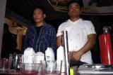 Rumah produksi sabu di Lombok Timur,