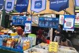 Empat pasar tradisional di Yogyakarta dilengkapi QRIS layani transaksi nontunai