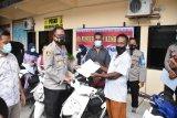 200 motor masih diamankan di Polresta Jayapura Kota