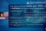 Rekrutmen guru jalur PPPK akan dibuka