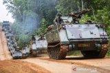 Gladi Bersih Puncak Latihan Kecabangan TNI AD