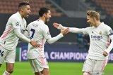 Real Madrid curi kemenangan 2-0 di markas Inter