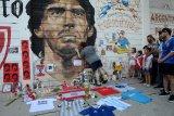 Napoli akan abadikan  nama Diego Maradona di stadion San Paolo