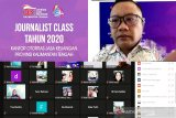 Perkuat arus informasi ekonomi dan IJK, OJK Kalteng gelar 'Journalist Class'
