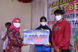 KONI Lombok Utara berikan bonus atlet berprestasi
