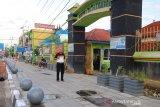 Pembangunan tahap awal trotoar di pusat Kota Payakumbuh selesai, tahun depan dilanjutkan