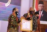 Sleman terima penghargaan pengelola pengaduan pelayanan publik terbaik