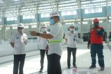 Hampir rampung Pasar Bauntung ditinjau Pjs wali kota