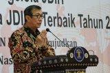 Menkum HAM Yasonna harap Pemda dan DPRD maksimalkan data digital informasi hukum