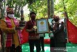 Gerakan tanam 10.000 pohon kelor di Gowa diganjar penghargaan dari Leprid