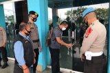 Polda Sulsel perketat protokol kesehatan di gudang logistik Pilkada Makassar