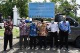 Kementerian ATR/BPN memasang imbauan bagi penyalahgunaan ruang di Sleman