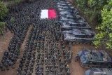 Pasukan khusus TNI pemburu kelompok MIT tiba di Palu
