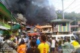 Kebakaran terjadi di kawasan permukiman warga APO Kali Jayapura