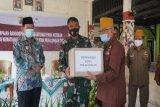 Pemkot Pekalongan dan Kodam IV/Diponegoro salurkan bansos sembako