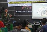 Sejumlah komunitas ikuti  wawasan kebangsaan di Kodim Wonosobo