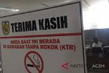 Merokok sembarangan di Aceh bisa dihukum penjara