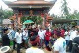 Datang ke Desa Wonorejo Kusan Hulu, Zairullah disambut tarian Bali