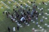 Rakyat Argentina sampaikan perpisahan terakhir kepada jenazah Maradona